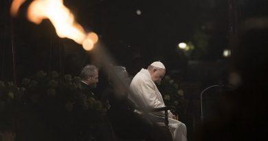 Semana Santa, celebraciones presididas por el Papa Francisco