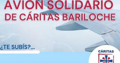 """Campaña """"El Avión Solidario"""" de Bariloche"""